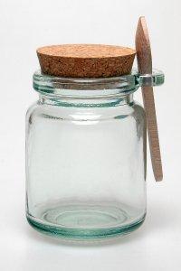 Korkenglas  250 ml mit Löffel