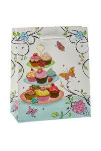 Geschenktasche Muffins  klein
