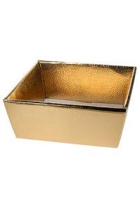 Schale 160 x 160 x 80 mm gold