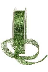 Fibraband 25 m, 25 mm grün metallic
