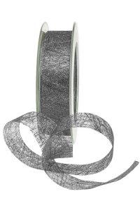 Fibraband 25 m, 25 mm silber metallic
