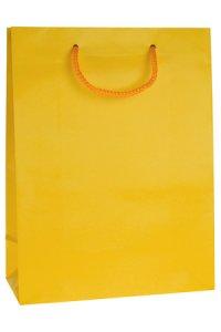 Geschenktüte gelb groß