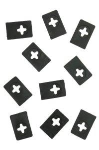 Abstreifgummis für Kirschentsteiner Kernfix - 10er Pack