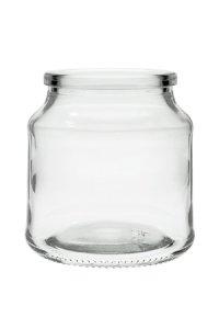 Korkenglas  175 ml rund
