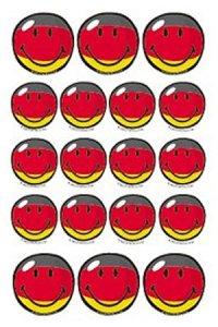 Sticker Deutschland-Smileys