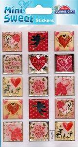 Epoxy-Sticker Amor und die Liebe