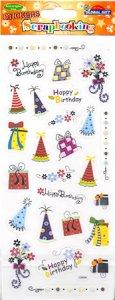 Transparent-Sticker Happy Birthday