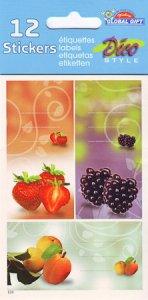 Etiketten Erdbeer-Sinfonie