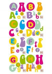 Aufkleber Komplettes Alphabet