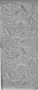 Sticker Herbst silber
