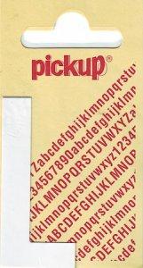Sticker Buchstabe L, 60 mm weiß