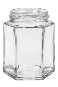 Sechseckglas 191 ml
