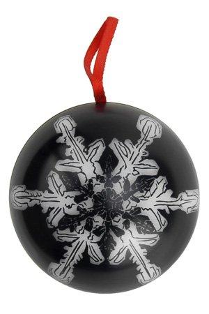 weihnachtskugel zum bef llen schwarz. Black Bedroom Furniture Sets. Home Design Ideas