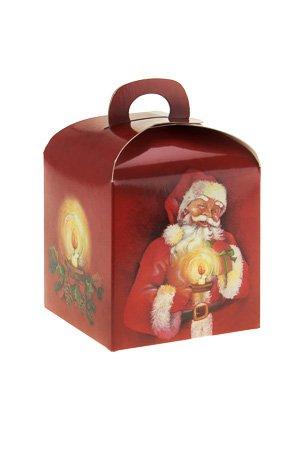 geschenkbox 39 weihnachten 39 100 x 100 x 100 mm. Black Bedroom Furniture Sets. Home Design Ideas