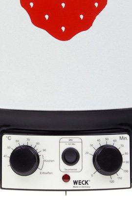 WECK Einkochautomat WAT 15 mit Zeitschaltuhr