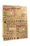 Geschenktasche Party, 18 x 8 x 23 cm
