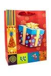 Geschenktüte Geschenk, 18 x 8 x 23 cm