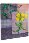 Geschenktasche Gartenblume lila, 22,5 x 14 x 33 cm