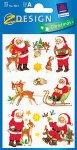 Deko-Aufkleber Weihnachtsmänner