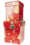 Geschenkboxen Weihnachtsmotive - 2er Set