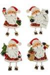 Deko-Aufkleber Weihnachtsmann aus Steinharz