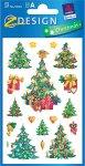 Deko-Aufkleber Weihnachtsbäume