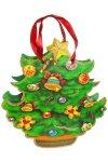 Deko-Geschenktasche Weihnachtsbaum