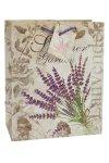 Geschenktasche Summer Garden Lavendel  mittel