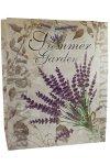 Geschenktasche Summer Garden Lavendel groß