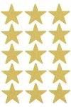 Weihnachtsetiketten 'Goldene Sterne' 22 mm