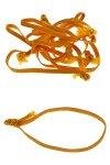 Textilschlaufen gelb -  50er Pack