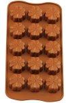 Schokoladen- und Backform Blume
