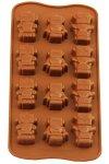 Schokoladen- und Backform Roboter