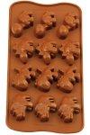 Schokoladen- und Backform Saurier