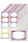 Etiketten 63 x 38 mm Zierrahmen, 80 Stück, A5