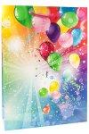 Geschenktasche Luftballons, 25 x 8,5 x 34 cm