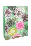 Geschenktasche Blumen, 18 x 8 x 23 cm