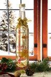 Adventskalender-Flasche 500 ml bunt