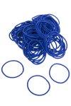 Elastische Schlaufen 40 mm, blau, 100 Stück