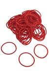 Elastische Schlaufen 40 mm, rot, 100 Stück