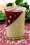Becherglas 150 ml Sterne weiß