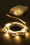 Lichterkettenband mit 30 SMDs, selbstklebend, weiß