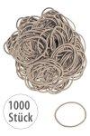 Elastische Schlaufen 40 mm, beige, 1000 Stück