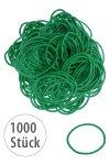 Elastische Schlaufen 40 mm, grün, 1000 Stück