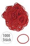 Elastische Schlaufen 40 mm, rot, 1000 Stück