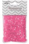 Streudeko Diamanten rosa 40 g