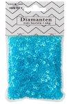 Streudeko Diamanten blau 40 g