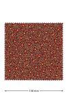 Deckchen 150 mm rot Stechpalme