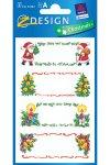 Weihnachtsetiketten 'Weihnachtsmotive'