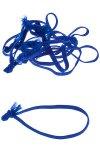 Textilschlaufen blau -  50er Pack